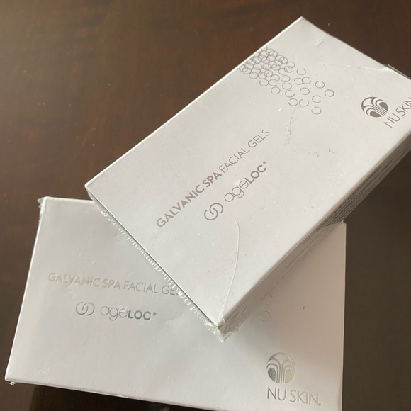 2 Nu Skin Boxes of Galvanic SPA Facial With Ageloc